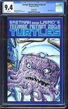 Teenage Mutant Ninja Turtles #7 CGC 9.4 NM B&W 2nd Print Krang Variant 1/1989
