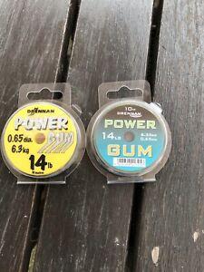 2 x drennan power gum 14lb New