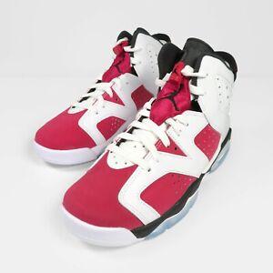Nike Air Jordan 6 Retro Carmine Red GS Trainers UK 6 / US 7Y / EU 40 NEW No Box