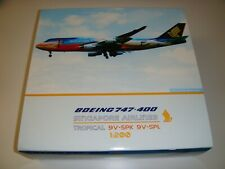 "1/200 JCWings200 Singapore Airlines Boeing 747-400 ""Tropical Megatop"" 9V-SPL"