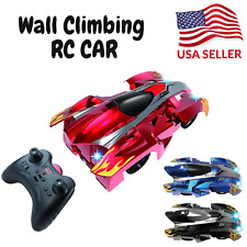 Wall Climbing Remote Control Car Stunt Rc Racing Kids Toys Christmas Xmas Gift