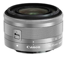 New Canon EF-M 15-45mm F/3.5-6.3 IS STM Silver Lens Bulk for EOS M/M2/M3/M10