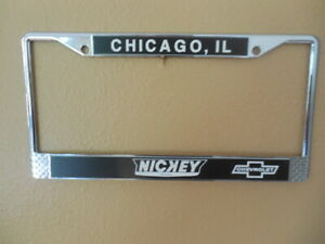 NICKEY CHEVROLET LICENSE PLATE FRAME