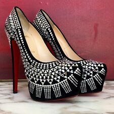 f92a25f38ecd new CHRISTIAN LOUBOUTIN Decorapump strass platform pump size 38.5 from fw  2012