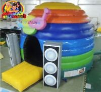 Disco Dome Bouncy Castle