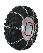 Grizzlar GTU-435 Garden Tractor Tire Chains Ladder 27x12.50-15NHS 29x12.00-15