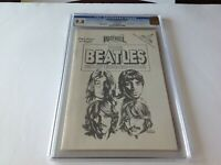 BEATLES EXPERIENCE 4 CGC 9.8 WHITE PAGES SILVER FOIL COVER REVOLUTIONARY COMICS