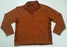 Mens TOMMY BAHAMA Denim Long Sleeve 1/2 Zip Tencel Sweater Sz Large