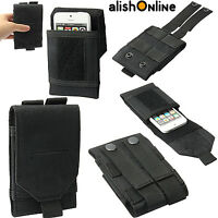 Universal Tactical Army Bag Smart Phone Belt Loop Hook Cover Case Pouch Holster