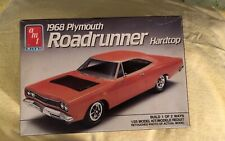 AMT ERTL 1968 PLYMOUTH ROADRUNNER 1/25 Scale Plastic Model Kit UNBUILT 1989