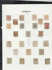 luxembourg stamps page ref 16978