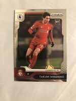 2019-20 Panini Chronicles PRIZM Update TAKUMI MINAMINO RC Rookie Card Liverpool