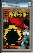 Marvel Comics Presents #88 (1991) CGC 9.8 WHITE!! Wolverine! Madripoor!!