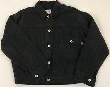 "Brents Big ""E"" Repo 1940's Levi's Jkt Black Canvass Single Pkt Buckle Back"