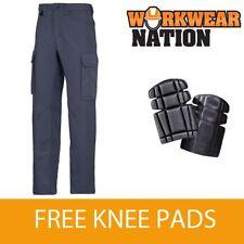 Pantaloni da uomo blu regolare in cotone