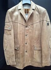 BELSTAFF RARE LEATHER HAMPSTEAD BLAZER COAT JACKET DESIGNER
