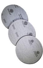 "TruCut by CtD Sanding Pads | 3 Pack HIGH Combo | 2000, 3000, P5000D Grit | 5"""
