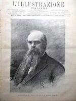 L'Illustrazione Italiana 14 Novembre 1886 Statua della Libertà Marzabotto Ascoli