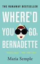 Where'd You Go, Bernadette Semple, Maria Mass Market Paperback