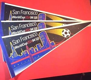 World Cup 1994 USA Lot of 3 Soccer Pendents San Francisco NEW