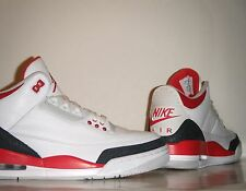 2013 Nike Air Jordan III 3 OG 88 Retro Fire Red Look-See Sample Sz 9 DB PE Promo
