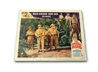"""THE SPIRAL ROAD"" ORIGINAL 11X14 AUTHENTIC LOBBY CARD POSTER PHOTO 1962 HUDSON"