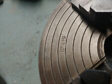 """6"""" #419 Union Mfg Co., 4 jaw chuck, (came off South Bend) 2-3/8"""". Excellent."""