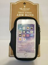 Universal Sport Arm Band Cell Phone Holder Running Jogging Gym Arm Band BLACK