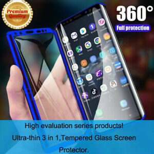 For Samsung Galaxy A10 A20E A40 A50 A70 360 Full Cover Case & Screen Protector