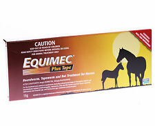 Equimec Plus Horse Wormer Paste 15g Roundworm Tapeworm Bots Horse Drench Worming