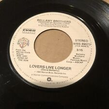 Bellamy Brothers 45rpm Vinyl Record 1980