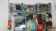 "lot of 5 1080P 1.5"" Full HD Sport DV Waterproof Action Camera Camcorder as Gopro"