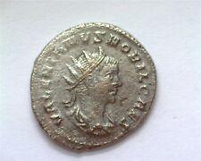 VALERIAN II 254-255 AD. BILLON ANTONINIANUS RIC#49 ABOUT UNCIRCULATED