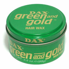 DAX Wax Green and Gold 3 Tins 99g