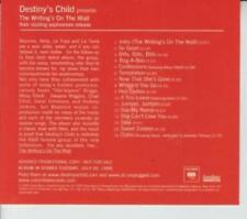 Destiny's Child: The Writing's On The Wall Advance PROMO MUSIC AUDIO CD Beyonce