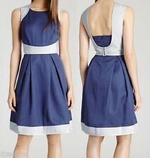 NWT $425 REISS Teddy Fit & Flare Quilted Dress 10(US) or 14(UK)