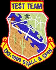 USAF 773rd TEST SQUADRON - DG-1000 STALL & SPIN TEST TEAM - ORIGINAL VEL PATCH