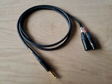 Mogami gold 1/4 trs to xlr insert cable 6 ft