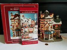 Village Collection St Nicholas Square Antique Cobbler Village Shop Illuminated