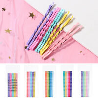 10Pcs/Set Colorful Hair Clip Hairpins Invisible Wave Hairgrip Hair Accessories