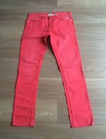 Men's Red Size 32 Long Blue INC Carrot Fit Jeans