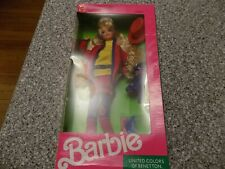 Mattel United Colors Of Benetton Barbie Doll, NIB,