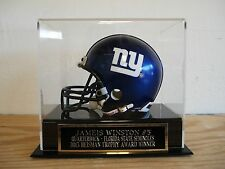 Display Case For Your Jameis Winston Seminoles Autographed Football Mini Helmet