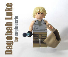 LEGO Custom -- Dagobah Luke Skywalker -- star wars mini figure yoda darth vader
