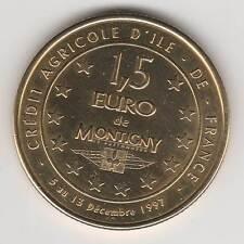 1997 - FRANCE - EUROS DES VILLES / MONTIGNY LE BRETONNEUX / 1,50 EURO