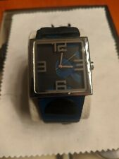 Dolce & Gabbana Watch Black Leather D&G Used