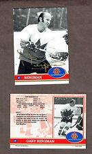 1972 Team Canada Gary Bergman (1938-2000 R.I.P.) Autographed Card