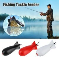 Fishing Lure Tackle Float Bait Feeder Bomb Holder Casting Feeder fishing Gear