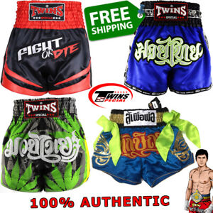 TWINS SPECIAL Shorts TBS Muay Thai Boxing Trunks New Models 100% GENUINE