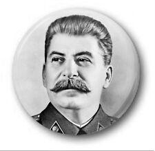 """STALINE 25mm 1"""" Insigne De Bouton Nouveauté Mignon Communiste Marx Soviétique"""